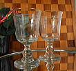 G1062 フランスアンティーク・ワイングラス・ペア