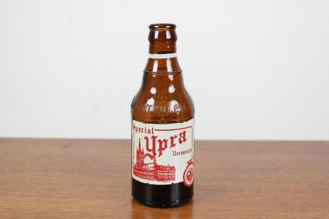 ベルギー ビール瓶 ヴィンテージ 花瓶 一輪挿し インテリア