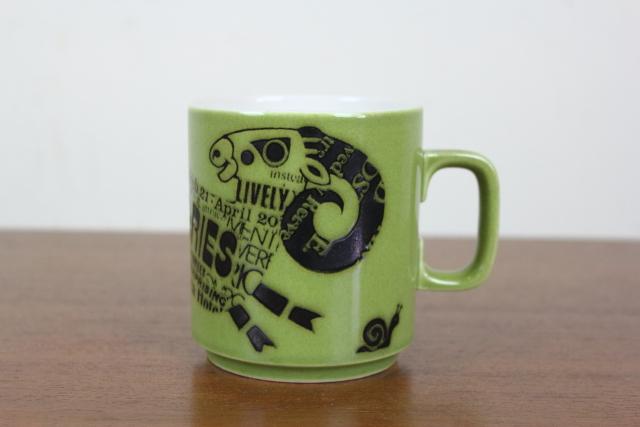 ホーンジー HORNSEA マグカップ ズーディアック ひつじ