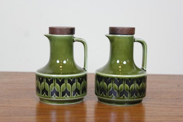 HORNSEA HEIRLOOM ホーンジー ヘアルーム レイクランドグリーン オイル&ビネガーボトル