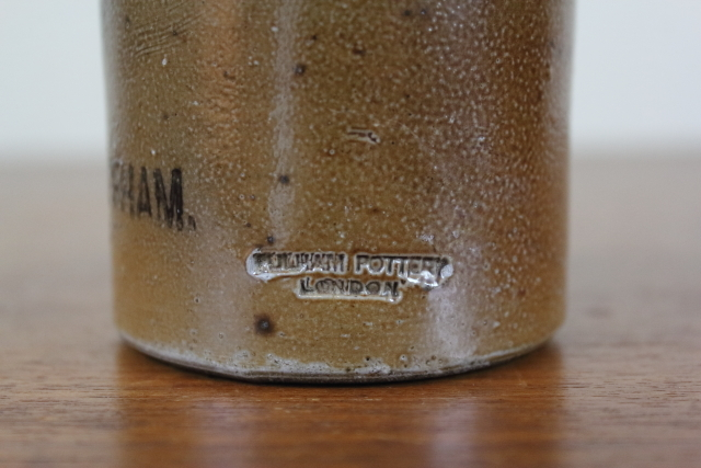 アンティーク ジンジャービアボトル ビール瓶 イギリス 陶器