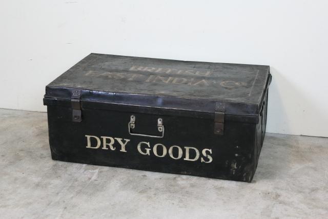 アンティーク コーヒーテーブル box ボックス アイアン