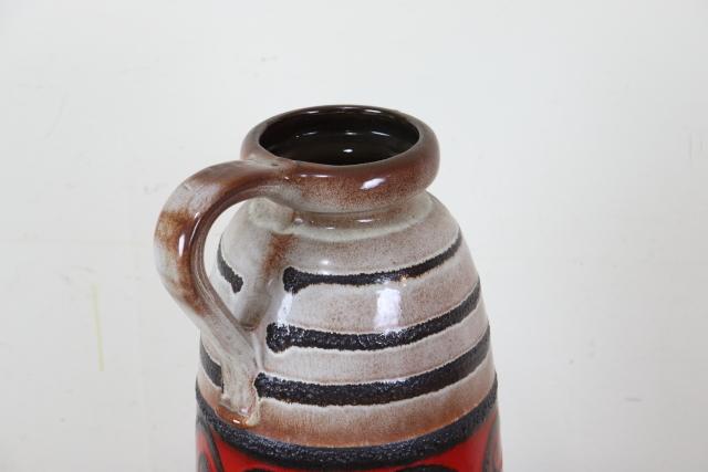 FAT-LAVA ファットラヴァ フラワーベース 花瓶 ドイツ 陶器