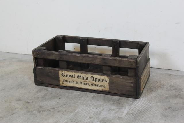 イギリス アンティーク 木箱 農場 ウッドボックス