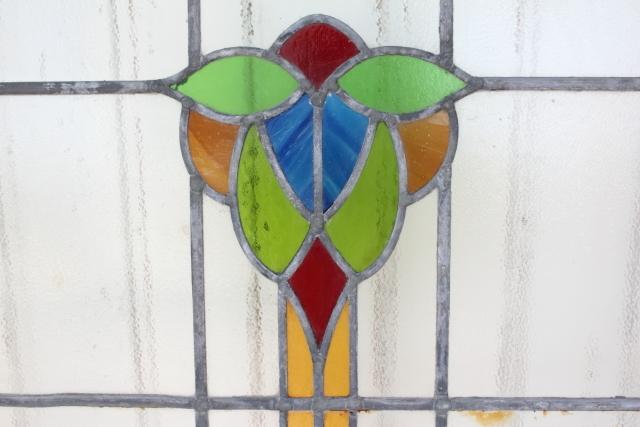 イギリス アンティーク ステンドグラス