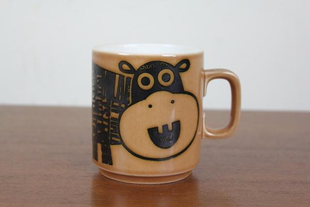 ホーンジー HORNSEA マグカップ ズーディアック かば