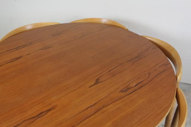 ハンス・J・ウェグナー ハートテーブル ハートチェア ダイニングセット デンマーク ヴィンテージ