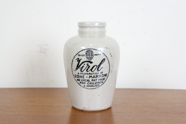 イギリス アンティーク ボトル ヴァイロール ヴィロール Virol