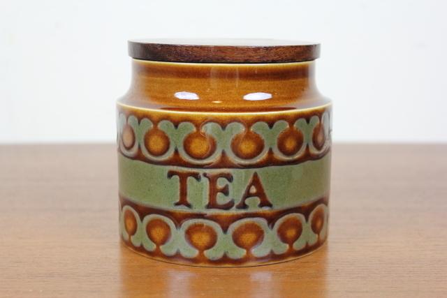 イギリス ヴィンテージ ホーンジー HORNSEA BRONTE HEIRLOOM キャニスター 紅茶