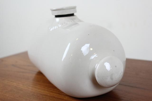 イギリス アンティーク 湯たんぽ フットウォーマー 花瓶