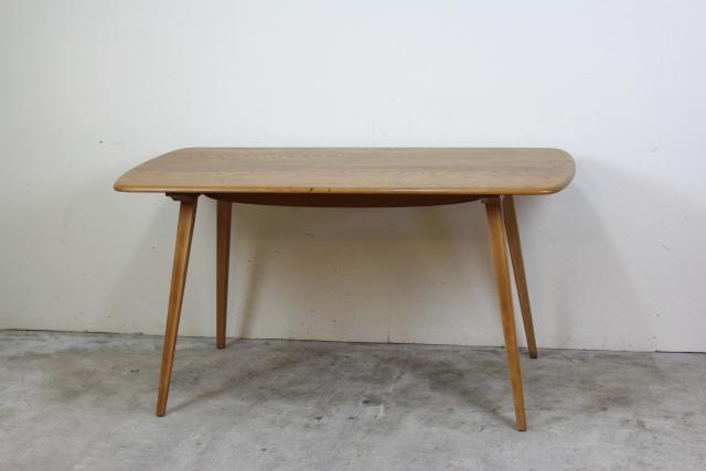 イギリス アーコール ercol ダイニングテーブル プランクテーブル