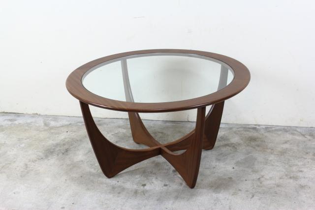 G-PLAN ジープラン フレスコ ガラストップコーヒーテーブル ラーセン