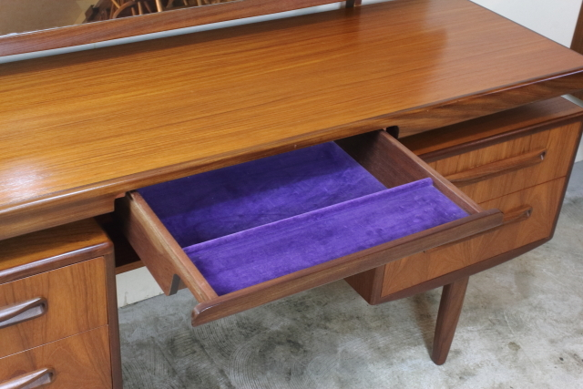 g-plan ジープラン ドレッシングテーブル ドレッサー フレスコ チーク