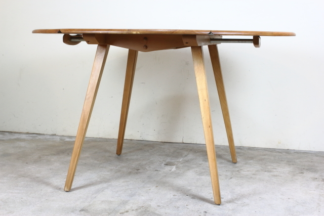 ercol アーコール バタフライダイニングテーブル ドロップリーフテーブル