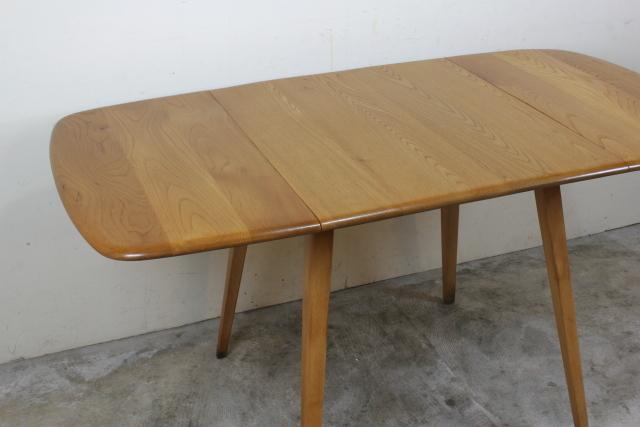 アーコール ercol ドロップリーフ バタフライ テーブル ダイニングテーブル 長方形 レア