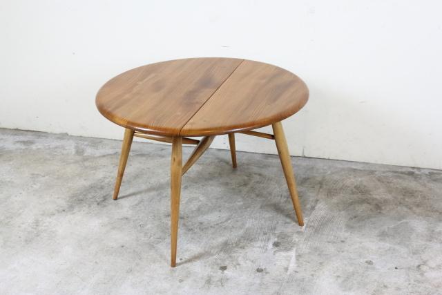 ercol アーコール ハーフムーンテーブル コーヒーテーブル レア