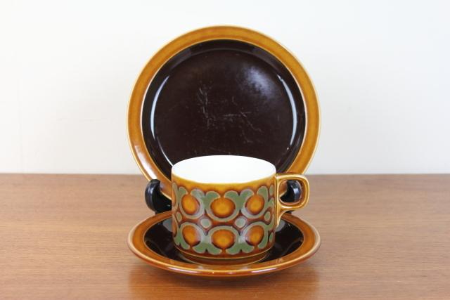 ホーンジー HORNSEA ブロンテ トリオ コーヒーカップ