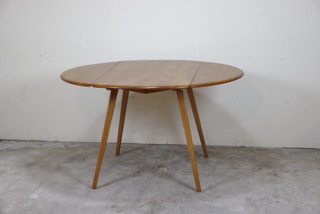 ercol アーコール ドロップリーフテーブル 長方形 バタフライテーブル