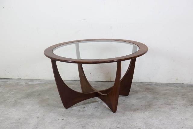 G-PLAN ジープラン ガラストップコーヒーテーブル ヴィンテージ
