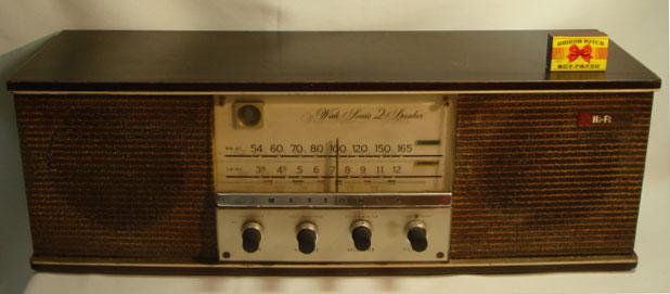 ナショナル 真空管ラジオ・ラヂオ 動作確認済み 【AJ1115】