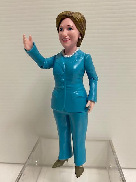 ヒラリー・クリントン☆アメリカ☆ファーストレディ☆人形 15.0cm 政治家 現状 詳細不明◆アメリカ大統領 【AT1026】