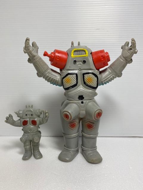 キングジョー☆ソフビ人形 21.5cm スタンダード 当時物 ウルトラセブン 現状 【AT1301】