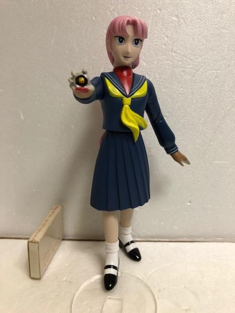 原作版 スケバン刑事 麻宮サキ ソフビ人形 フィギュア 20.0cm 版権有 現状 【AT419】