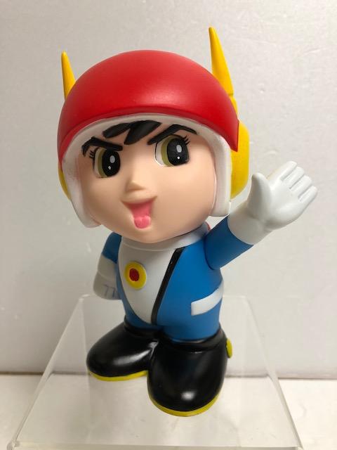 光速エスパー☆限定500個☆ソフビ人形 16.5cm 松本零士版 現状◆東芝 【AT818】