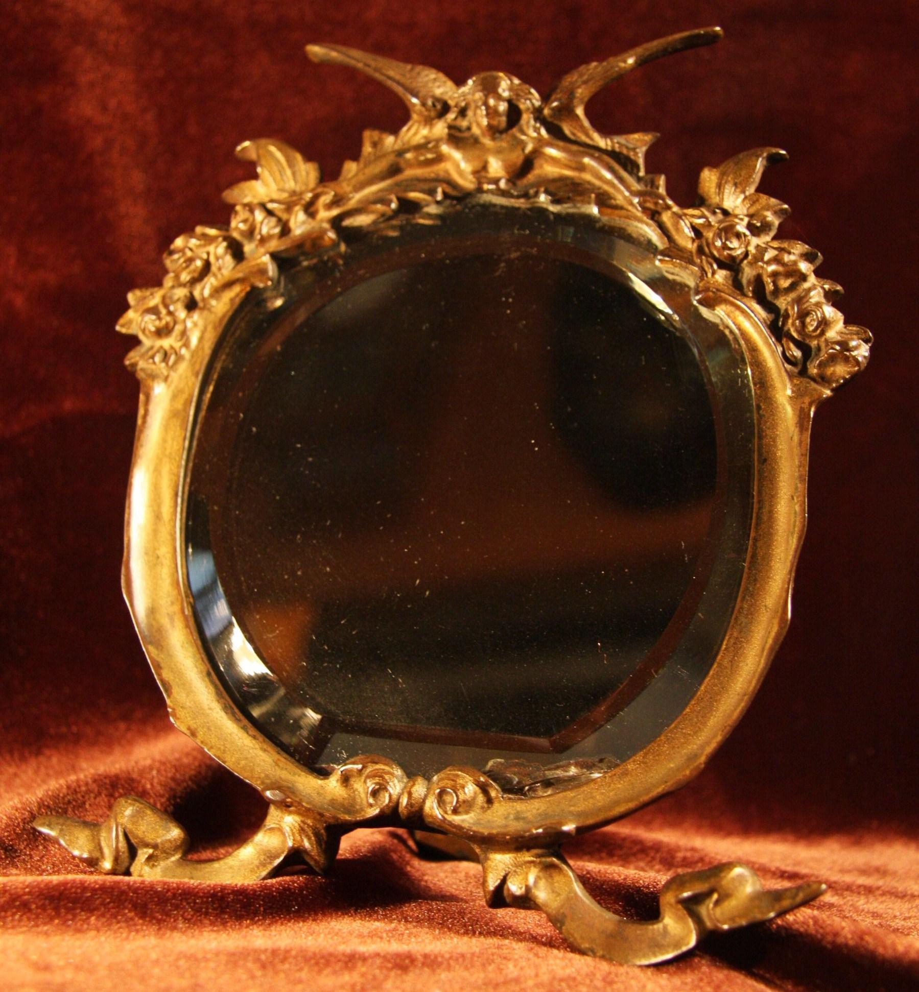 アンティーク 鏡  [AW1001]