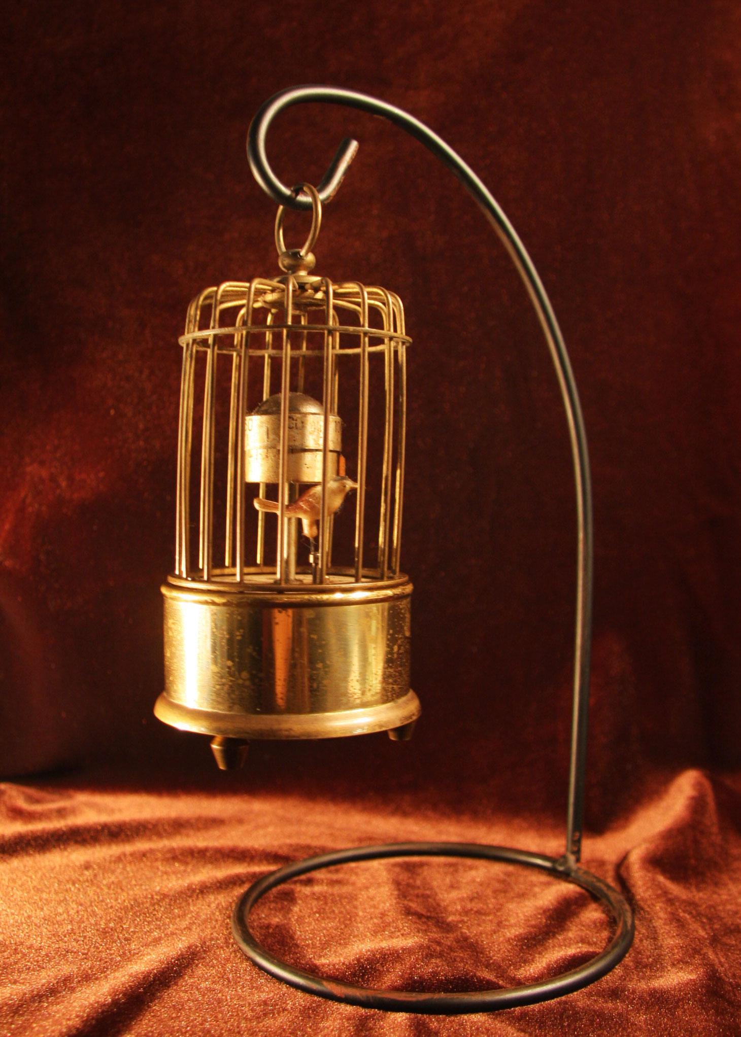 鳥かごの手巻き時計 ドイツ製 現状 【AW1005】