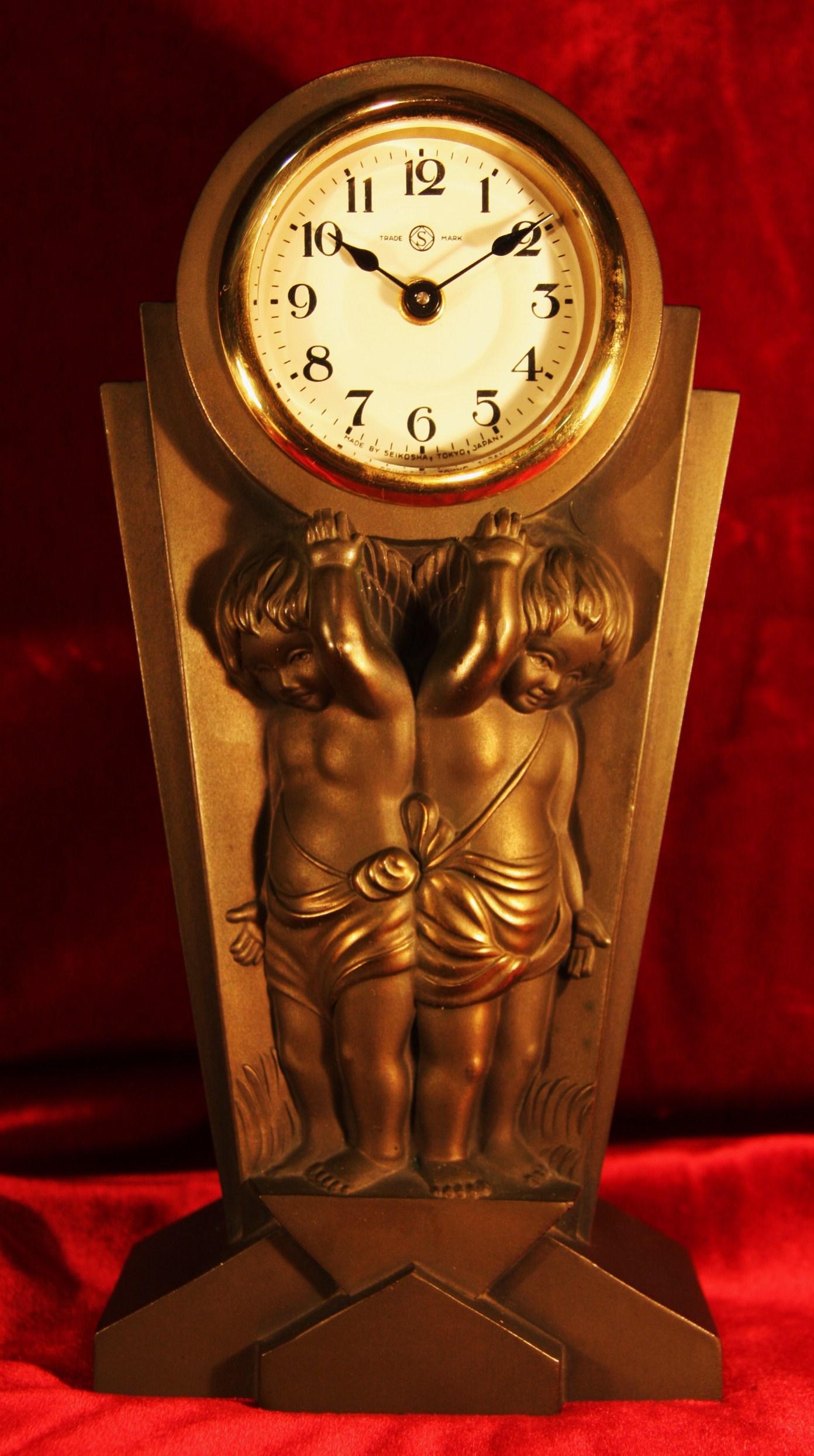 精巧舎 天使の時計 手巻き 1950年代〜? 【AW1016】