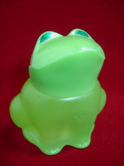 ヴィンテージ AVON かえる・カエルのパフューム・コロンボトル/香水ビン 【AW1261】