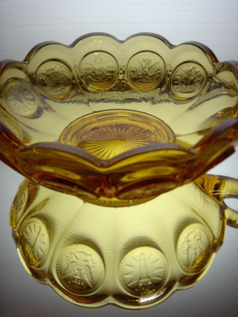 アメリカ フォストリア コインシリーズ ガラス製 ボンボンディッシュ 【AWG0167】