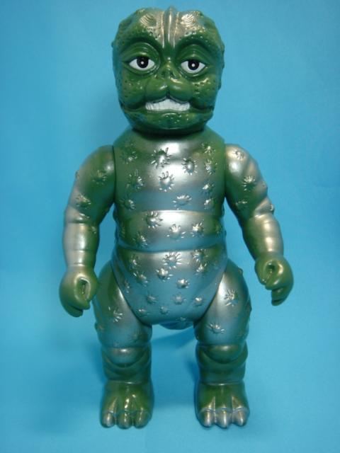 ブルマァク ミニラ(ゴジラの息子) ソフビ人形 22.0cm スタンダード 当時物 東宝 1992年 現状 【TO1125】