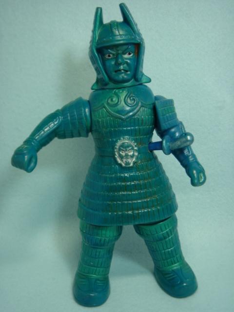 1966年☆マルサン 大魔神 ソフビ人形 高さ 24.0cm 当時物 スタンダード 版権有 現状 【TO1229】