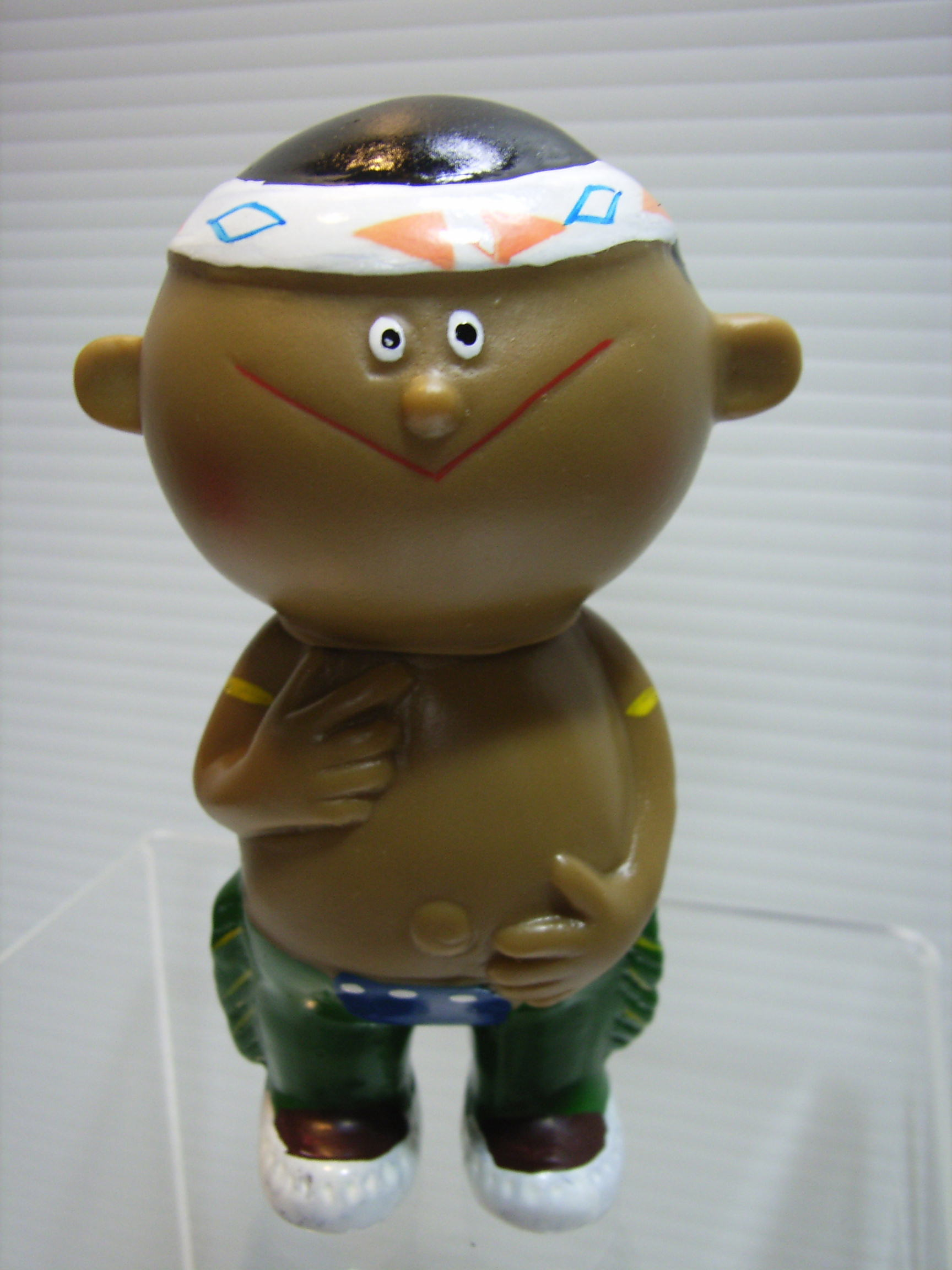 シスコ シスコーン坊や ソフビ人形 9.5cm 企業 詳細不明 現状 【TO2842】