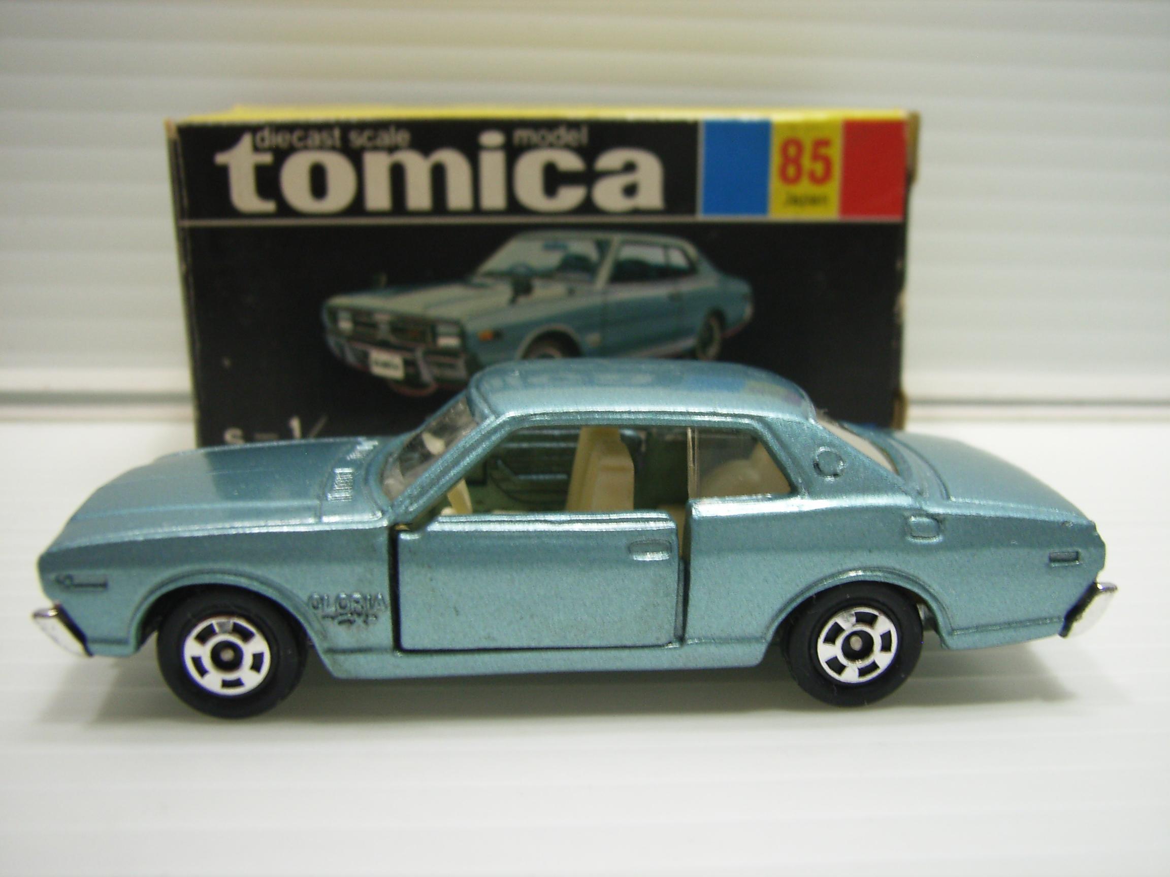 トミカ ニッサン グロリア 2000GX NO.85 ミニカー 7.8cm 当時物 黒箱 JAPAN 現状 【TO3193】