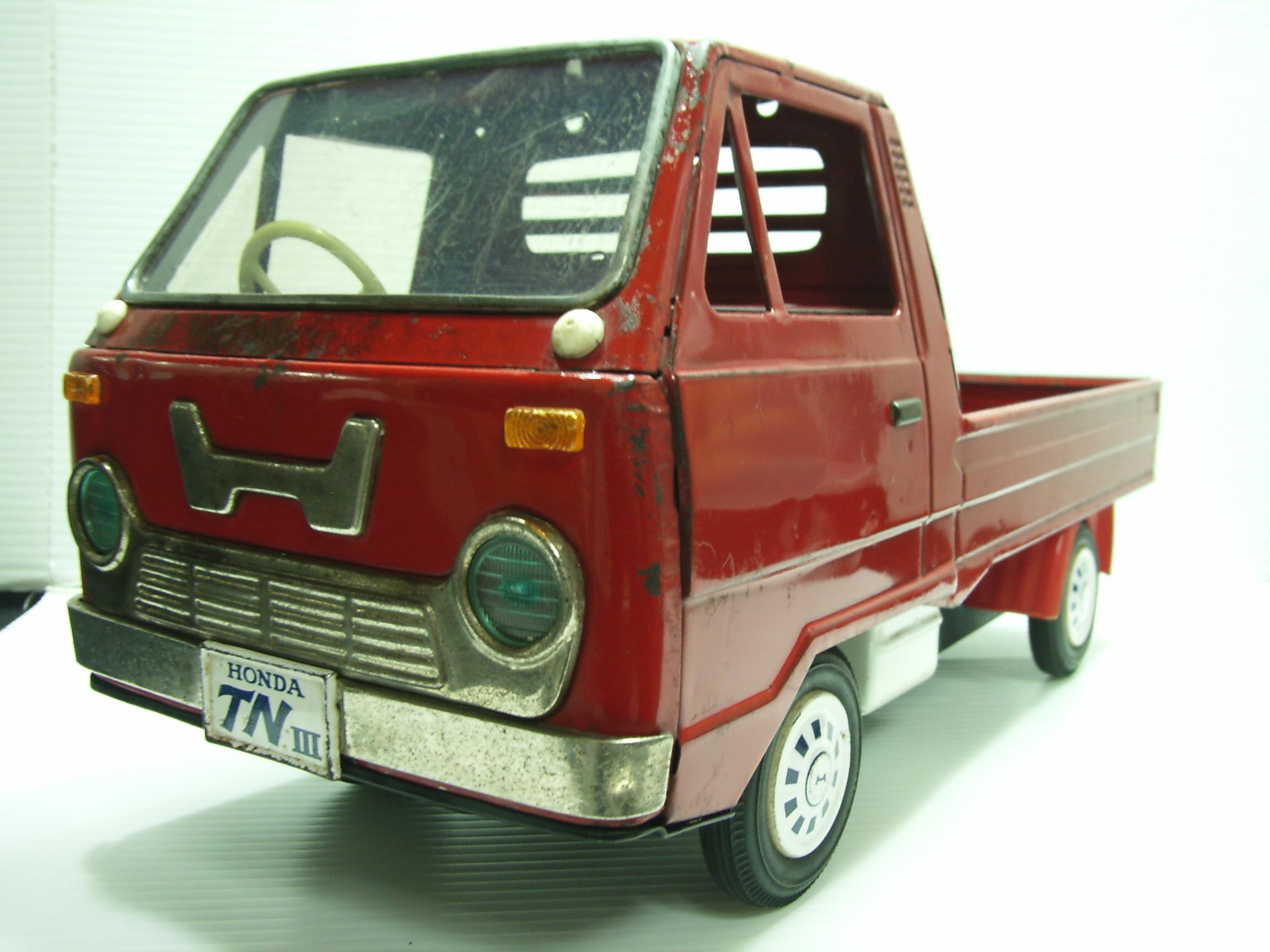 野村トーイ ホンダ TN トラック ブリキ 大型 32.5cm 当時物 JAPAN フリクション 現状 【TO3239】