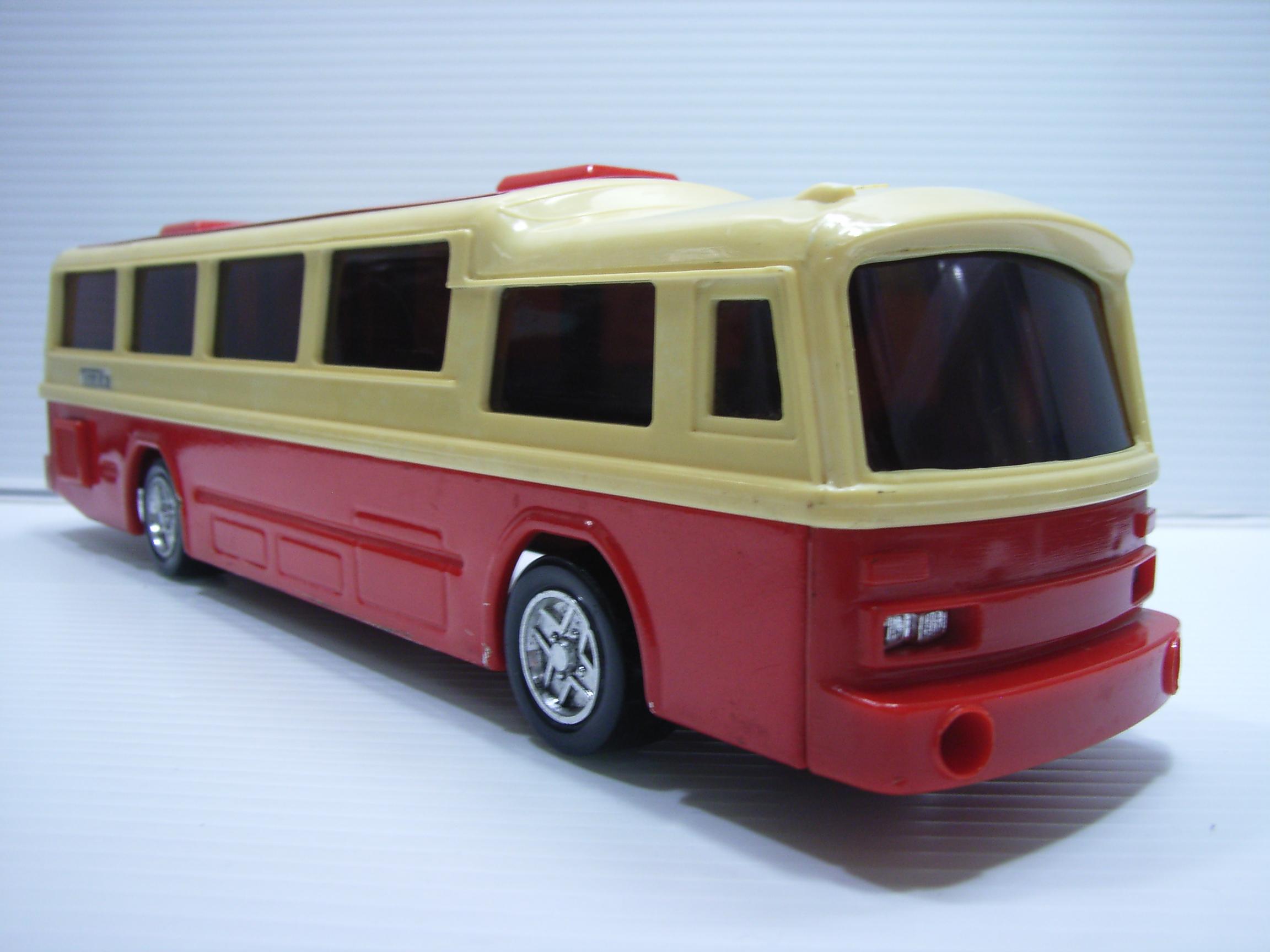 存在感あり!Tonka バス ミニカー 長さ 29.1cm 450g 当時物 JAPAN 現状 【TO3265】