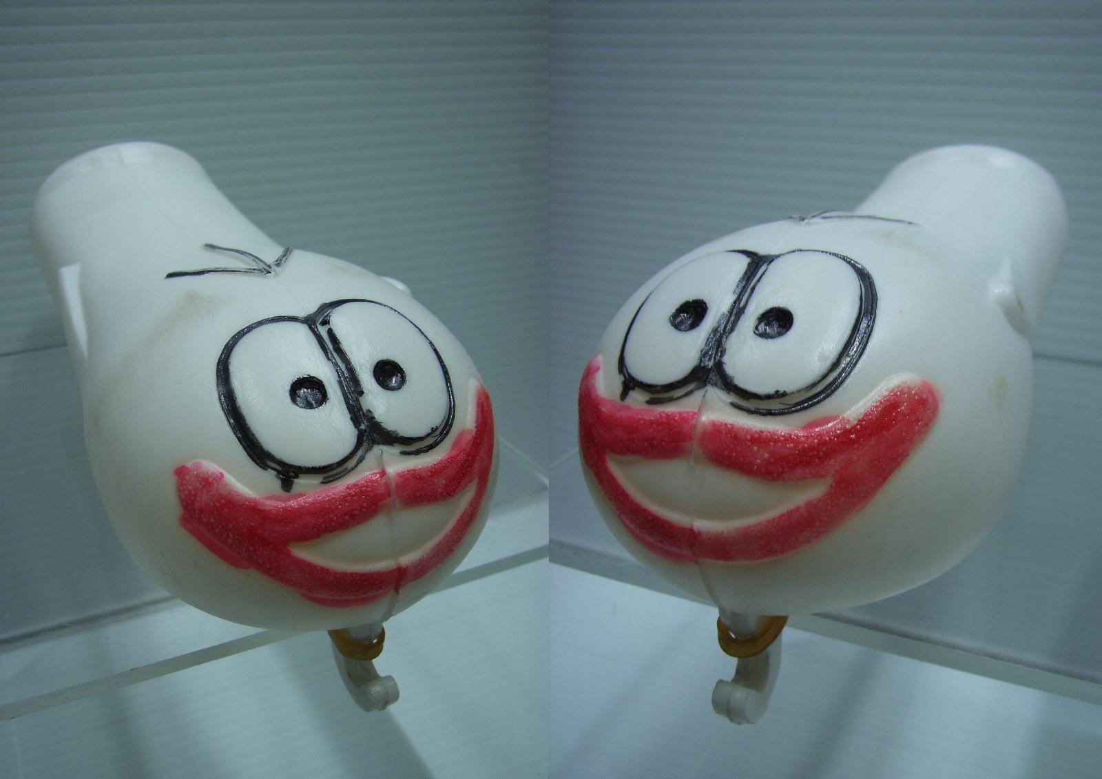 オバケのQ太郎 人形 16.7cm 当時物 手書きアニメ 現状 詳細不明 【TO3327】