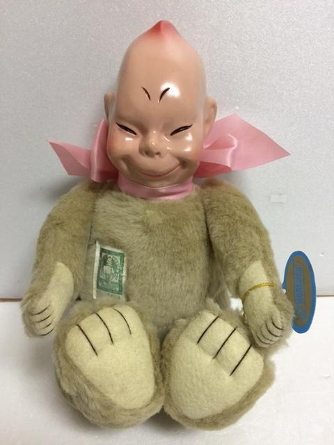 テディ ビリケンドール 人形 大型 28.5cm タグ付 版権有 現状 【TO4123】