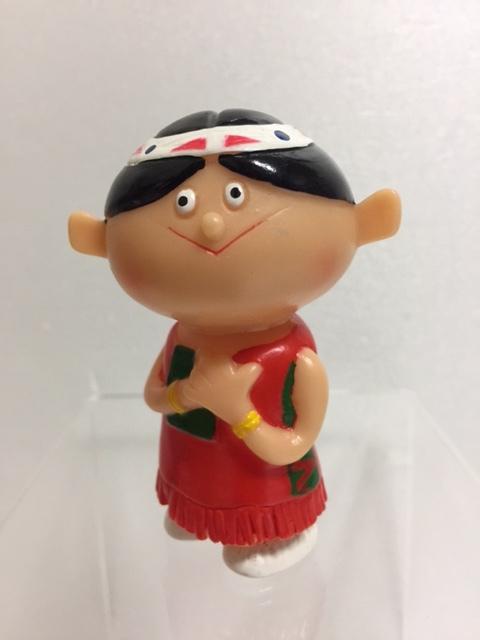 シスコ シスコーン チョコちゃん ソフビ人形 8.5cm 企業物 詳細不明 現状 【TO4247】