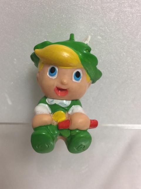 リボンの騎士 チンク ソフビ人形 5.0cm 当時物 版権有 虫プロ 現状 【TO4351A】