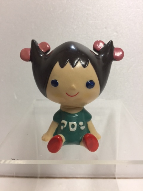 東邦レーヨン☆アロンちゃん☆ソフビ人形 7.2cm 当時物 企業物 非売品 現状 【TO4472】