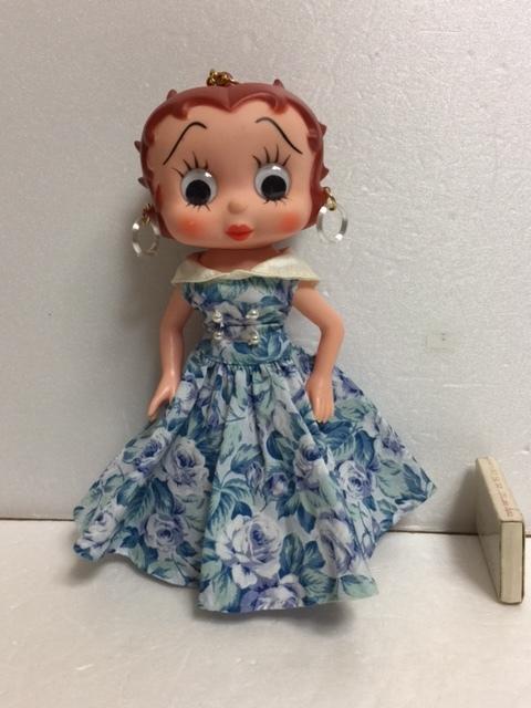 ベティちゃん ベティ・ブープ ソフビ人形 20.5cm 当時物 現状 詳細不明 【TO4485】