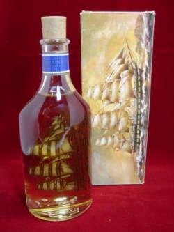 Captain's Pride W/Stand ガラス製 パフュームローションボトル/香水ビン オールドAVON/エイボン 【SA0189】