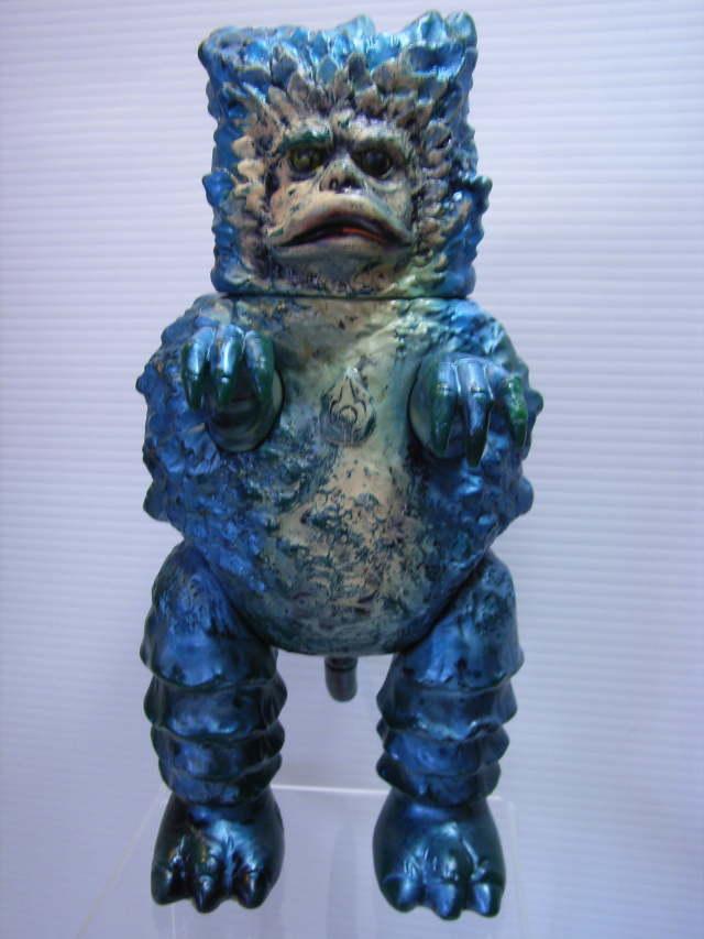マルサン 隕石怪獣ガラモン ソフビ人形 第2期?(成型色 陸軍暗緑色) 23.0cm スタンダード 【TO2783】