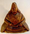 武田信玄の像 木造 現状 【AJ1111】