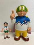 パーヤン☆パーマン☆ソフビ人形 21.5cm 390g メディコムトーイ 版権有 アニメ 現状 【AT1009】