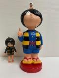大型☆ゲゲゲの鬼太郎☆首ふり☆ソフビ人形 30.0cm 版権有 JAPAN アニメ 現状 【AT1029】